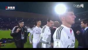 جشن قهرمانی رئال مادرید در جام باشگاههای جهان