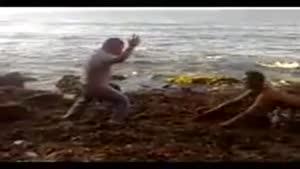 ترسوندن توی ساحل