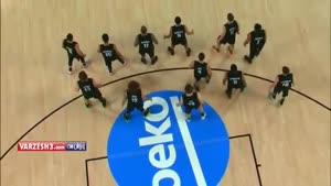 رقص بسکتبالیستها