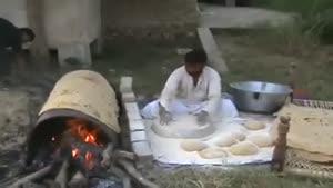 نان لواش خانواده
