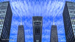 تایم لپس تماشایی از شیکاگو ۴k
