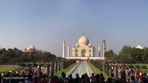 تاج محل در هند ۴k