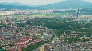 تایم لپس سئول پایتخت کره جنوبی ۴k