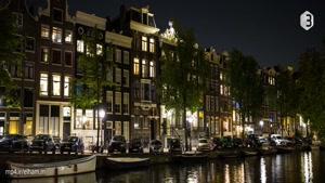 تایم لپس تماشایی از آمستردام ۴k