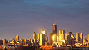 تصاویری زیبا از شیکاگو ۴k