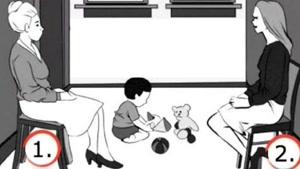 تست روانشناسی جالب ۷۰ درصد افراد به این تست اشتباه پاسخ میدهند - به نظرتون مادر این بچه کدومه؟؟
