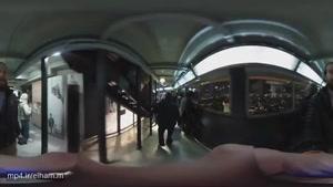 ویدیو ۳۶۰ درجه _ در بالاترین طبقه برج ایفل