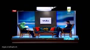 لحظه زلزله در تلویزیون کشور وقتی مجری و مهمان درباره زلزله صحبت می کردند
