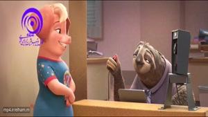 سکانس برتر انیمیشن زودتوپیا برنده جایزه اسکار