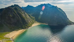 تایم لپس زیبا از نروژ ۴k
