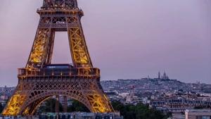تایم لپس زیباترین شهر اروپا پاریس ۴k