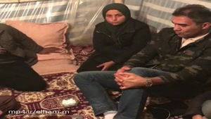 احمدرضا عابدزاده در مناطق زلزله زده سرپل ذهاب