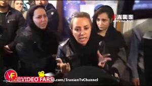 تصاویر و فیلم های غم انگیز از لحظه اعلام خبر غرق شدن نفتکش سانچی به خانواده سرنشینان