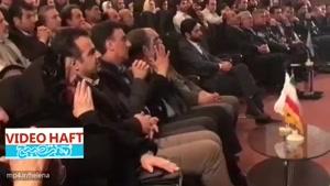 اشکهای همسر حجازی در اختتامیه جشنواره فیلم های ورزشی