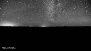 تصاویر زیبایی از ستارگان در شب