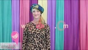 آموزش بستن شال و روسری به سبک مهناز افشار