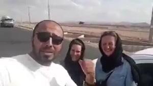 """از تاثیرات شیرازی ها این توریستها فقط دو روز شیراز بودن! """"عامو ولُم بُکُن """"😂"""