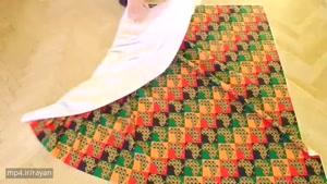آموزش خیاطی بدون الگو - دوخت بلوز