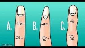 شکل انگشت های شما نشانگر کدام ویژگی شخصیتی شماست؟