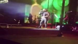 حضور شقایق فراهانی در کنسرت هوروش باند