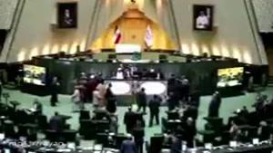 صدای تیراندازی شدید در #مجلس شورای اسلامی. مهاجمین با کلاشینکف و کلت به مجلس حمله کردند.