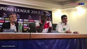 کنفرانس خبری برانکو بعد از بازی با الهلال