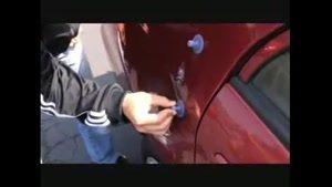 آموزش صافکاری بدون رنگ ماشین