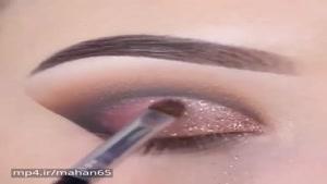 آموزش آرایش چشم 😍
