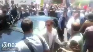 """توهین سازمان یافته نیروهای خودسر در راهپیمایی روز قدس به رئیس جمهور: """"روحانی بنی صدر، پیوندتان مبارک"""