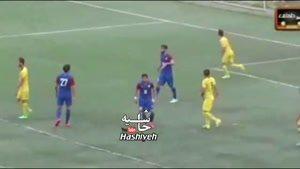 خنده دار ترین و جالب ترین گزارشگر تاریخ فوتبال ایران
