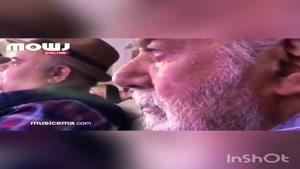 گریه اکبر عبدی و ناصر ملک مطیعی در کنسرت سالار عقیلی