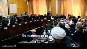 وزیر راه برای پاسخگویی به ابهامات سقوط هواپیما به کمیسیون عمران مجلس رفت