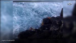 طوفانی و خطرناک ترین حوض آببازی دنیا