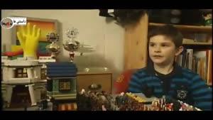 پسر ۱۱ ساله آلمانی فیلمهای انیمیشن میسازد