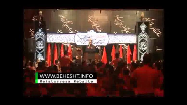 عبدالرضا هلالی -شور محرم ۹۲ -شب هشتم