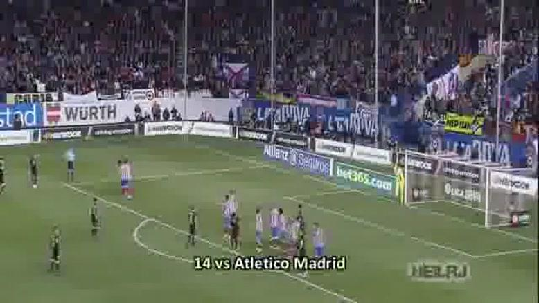 Lionel Messi - All ۹۱ Goals in ۲۰۱۲