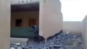 تخریب ساختمان در افقانستان