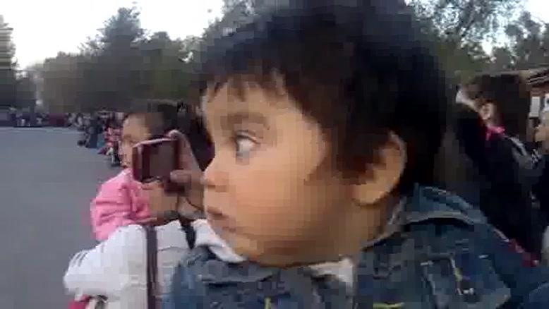 ترس کودک از صدا