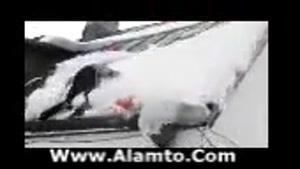 برف روپشت بام