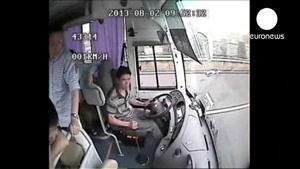 تصادف بسیار وحشتناک در چین