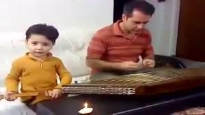 خوانندگی زیبای پسر بچه ایرانی
