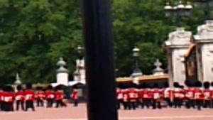 مراسم تعویض نگهبانان قصر