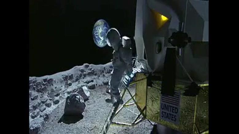 اولین زنی که به کره ماه پا نهاد