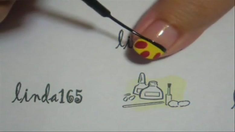 طراحی ناخن ۶