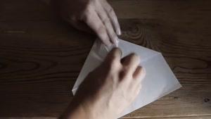 حرکت موشک کاغذی تا بینهایت