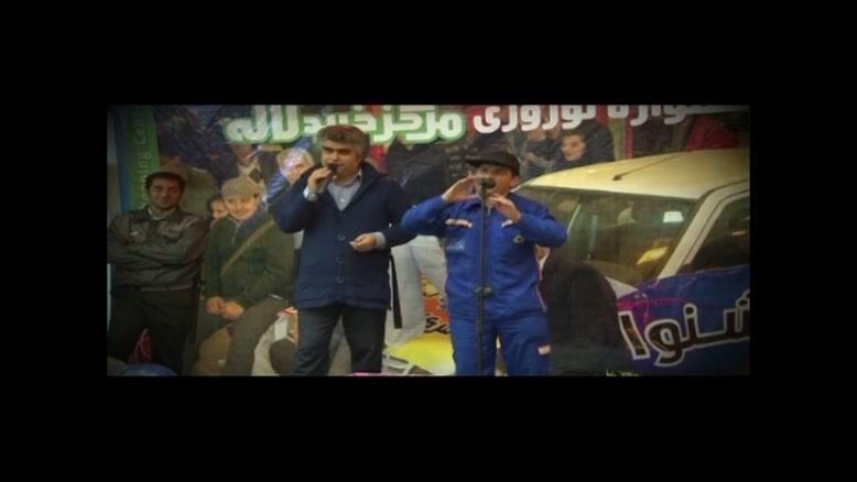 کمدی محمدرضا افشار - مرکز خرید لاله