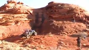 بالا رفتن از صخره عمودی با ماشین