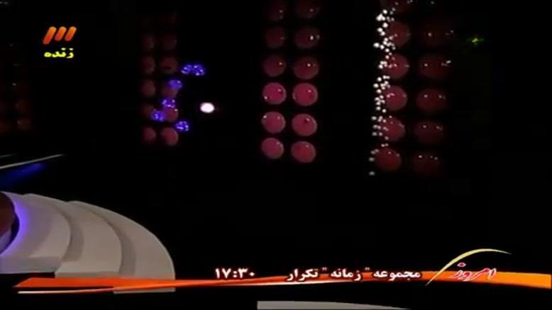 اجرای زنده اهنگ منوبارون از بابک جهانبخش