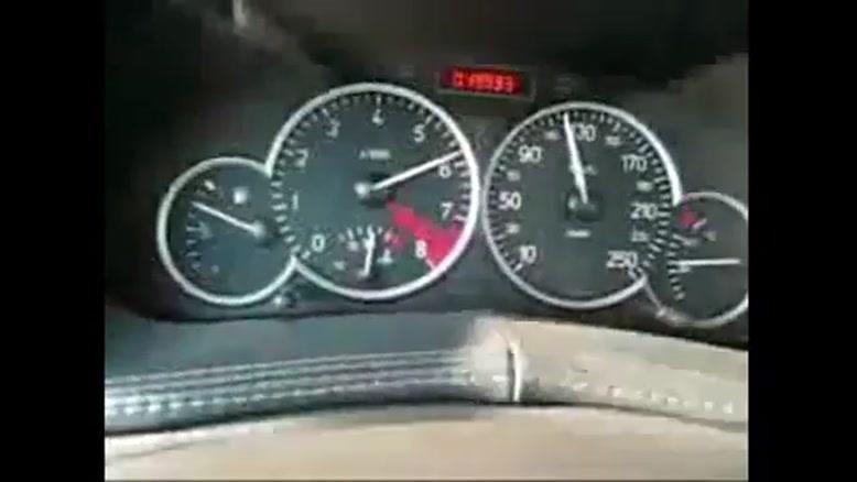 شتاب گیری ۲۰۶ با موتور ۲۰۰۰ فرانسه