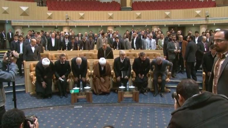اولین کنگره ملی حماسه اقتصادی - سرود ملی